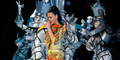 Aksi Spektakuler Katy Perry di Super Bowl XLIX