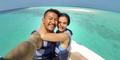 Atiqah Hasiholan-Rio Dewanto Bulan Madu Romantis di Maldives