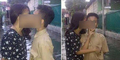 Foto Siswa SD Ciuman Saat Banjir Dikecam Netizen