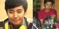 Kisah Bripka Eka, Polwan Cantik Nyambi Jadi Tukang Tambal Ban