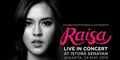 Konser Tunggal Raisa 24 Mei 2015