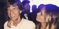 Mick Jagger Gandeng Model Cantik 28 Tahun Alicia Rountree