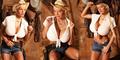 Model Seksi Martina Big Perbesar Payudara dengan Larutan Garam