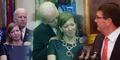 Wapres Amerika Genit, Kepergok 'Gerayangi' Istri Menhan