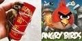 Bocah China Ikat Burung di Roket Kembang Api Terinspirasi Angry Birds