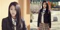 Foto Cantik Seolhyun AOA Berseragam SMA di Orange Marmalade