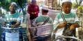 Kisah Inspiratif Pria Cacat Jual Pulsa Keliling di Jepara
