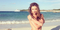 Miranda Kerr Pose Topless Untuk Produk Kecantikan