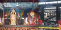 Patung Dewi Kwan Im Selamat Dari Kebakaran di Wihara Dharma Bakti
