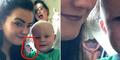 Penampakan Hantu di Tengah Foto Selfie Keluarga