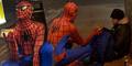 Spider-Man Beri Makan Gelandangan di Birmingham