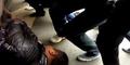 Video Pria Tiongkok Dilindas Bus Masih Hidup
