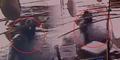 Video Wanita Beli Pizza Ditabrak Mobil Tidak Cedera
