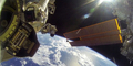 Aksi Astronot Spacewalk Direkam Kamera GoPro