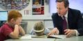 Dikunjungi PM Inggris, Siswi SD Ngorok di Kelas