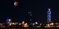 Foto Gerhana Bulan Merah Darah 'Blood Moon' di China