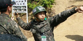 Foto Sungmin Super Junior Latihan Wajib Militer