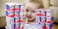 Gadis Cilik Ketagihan Makan Yogurt, Sudah Habiskan Rp 38 Juta