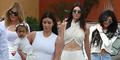 Heboh Kendall Jenner Pamer Perut Seksi Saat ke Gereja