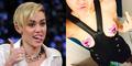 Lagi, Miley Cyrus Pose Seksi Pamer Payudara