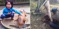 Tangis Bocah 5 Tahun Lihat Anjingnya Diculik Lalu Disembelih