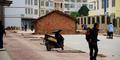 Ogah Digusur, Rumah Berdiri di Tengah Jalan Raya Tiongkok