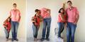 Pasangan Sejoli Romantis Meski Beda Tinggi 1 Meter