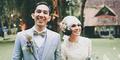 Pernikahan Unik Andien-Ippe Bernuansa Alam