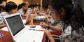 Takut Listrik Padam, Peserta UN Online Bawa Laptop Sendiri