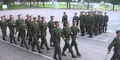 Tentara Rusia Latihan Baris Nyanyi 'Barbie Girl' Bikin Ngakak