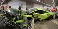 Tiru 'Fast and Furios 7', Mobil Lamborghini Jadi Rongsokan