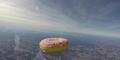 Video Donat Pertama Terbang ke Luar Angkasa