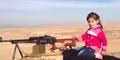 Video Gadis Cilik Etnis Kurdi Tembaki 400 Militan ISIS