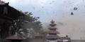 Video Ratusan Burung Ketakutan Diguncang Gempa Nepal
