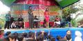 Acara Pelepasan Siswa SD Pemalang Diramaikan Orkes Dangdut