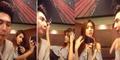 Asyik Selfie Saat Makan, Cewek Cantik Ditoyor Pacarnya