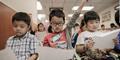 Balita di Hong Kong Dipaksa Ortu Kursus Sebelum Masuk TK
