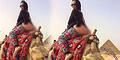 Bintang Porno Pamer Bokong di Piramida Diburu Pemerintah Mesir