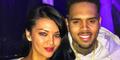Farah Quinn Pamer Belahan Dada Seksi Bareng Chris Brown
