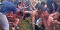 Foto Puluhan Petani Babak Belur Dihajar dan Ditangkap Polisi