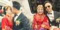 Kena Macet, Pengantin Muda Tiongkok Pilih Nikah di Busway
