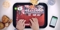 KFC Terapkan Tray Typer, Keyboard Nampan Bluetooth