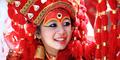 Kumari, Titisan Dewi Nepal Selamat dari Gempa