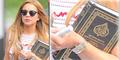 Lindsay Lohan Kepergok Bawa Al-Quran di Brooklyn