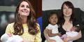 Monika 2 Kali Melahirkan Barengan Kate Middleton