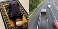 Pria Salat di Jalan Tol Jadi Buronan Polisi Inggris