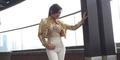 Foto Syahrini Pamer Payudara Seksi di Pemotretan Majalah Malaysia