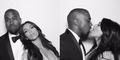 Ultah Pernikahan, Kim Kardashian Foto Mesra dengan Kanye West