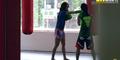 Video Gadis Culun Kalahkan 4 Pelatih Muay Thai