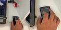 Cara Ubah Smartphone Jadi Mouse Laptop